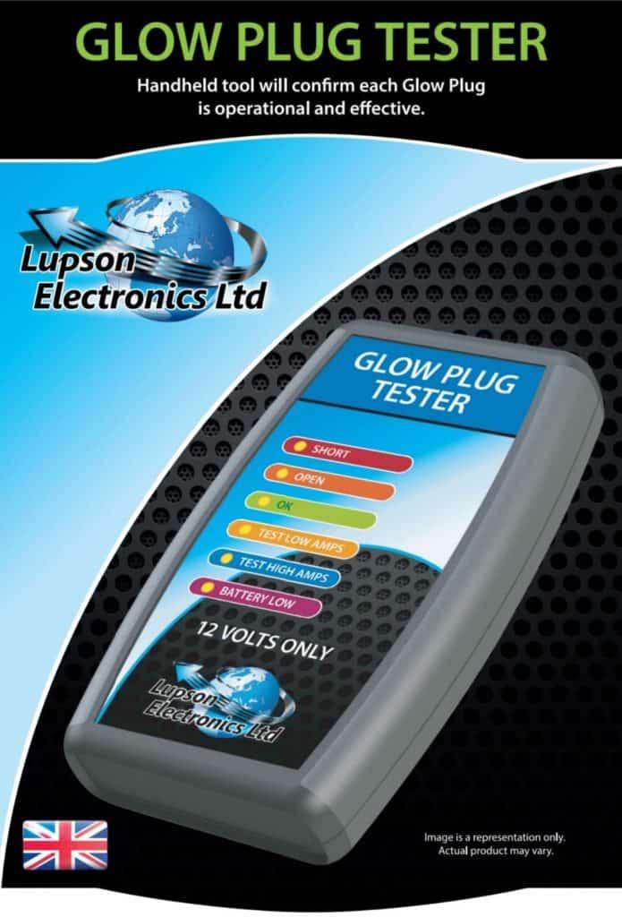 glow plug tester Lupson electronics