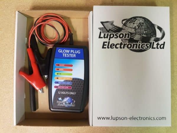 glow plug tester Lupson-electronics