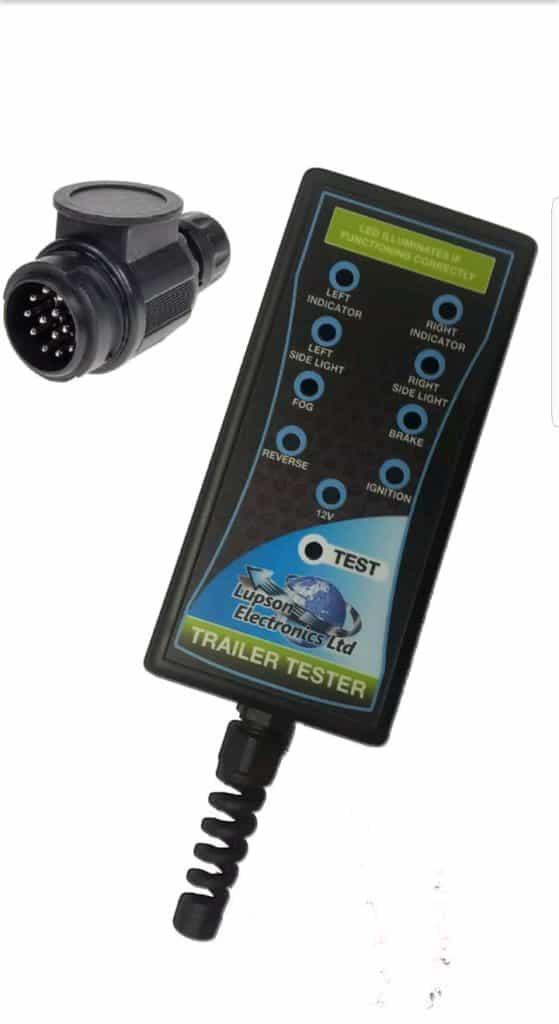 Trailer socket tester