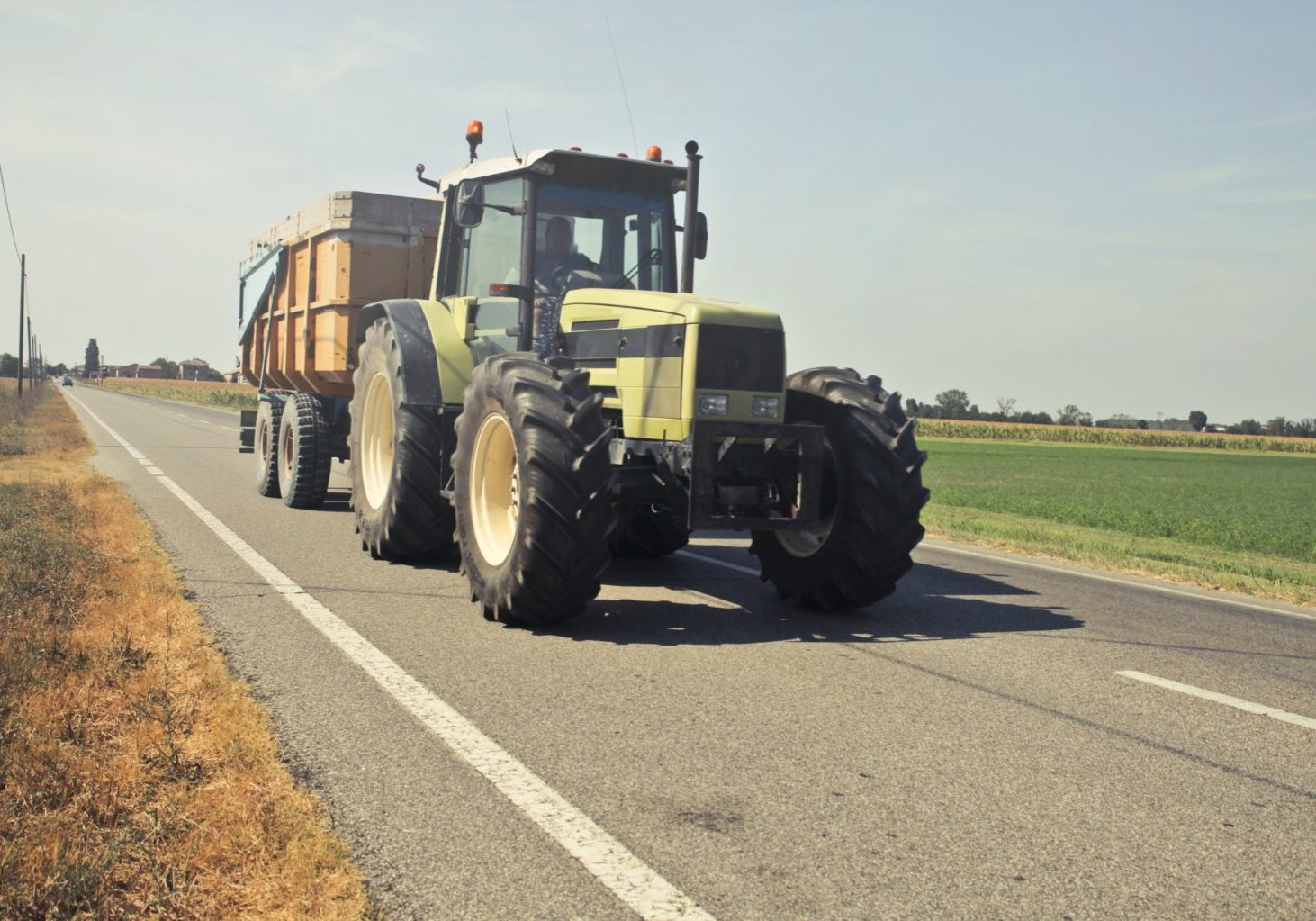Electronic products for agricultural vehicles